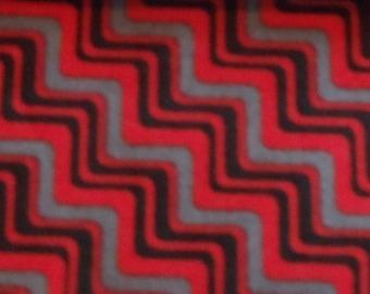 Red Zigzag Greyhound, Whippet, Galgo, Pit Bull, Dog Sighthound Martingale Collar