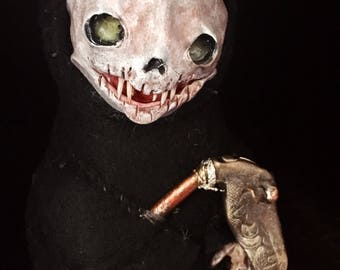 Lil Death ooak art doll