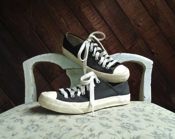PF Flyers Two Tone Canvas Sneakers - Vintage 90s - 6.5