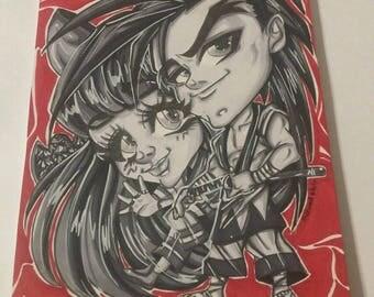 Samurai Showdown, Samurai Spirits, Video Game Art, Drawing, Painting, Original Art, Comic Art, Chibi Art, Anime art, Manga Art
