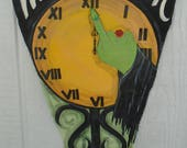 Listing for Julie Draper ONLY-Witching Hour Halloween Banner  Hand Painted Just for You