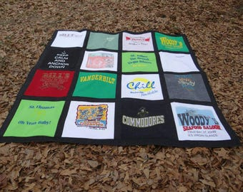 TShirt  Quilt with your 16 Tee shirts