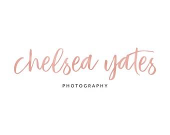Rose Gold Logo Pink Logo Bronze Logo Photography Logo Photography Watermark Calligraphy Logo Lash Logo Makeup Artist Logo Realtor Logo