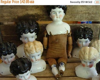 ONSALE Beautiful Original Aged and Damaged Antique Doll