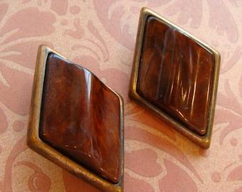 Very Vintage Unusual Stunning Earrings Jewelry