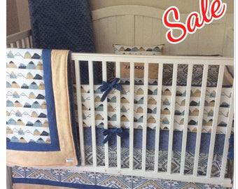 Baby Boy Crib Bedding Crib Sets Adventure Awaits Mountains