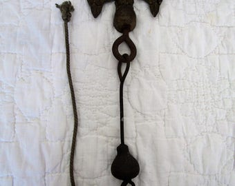 Vintage Eagle Bell Top with Bell Chime still attached missing bell