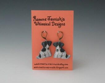 English Setter, DOGS EARRINGS. dogs, jewelry. earrings dogs, Dogs earrings
