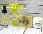 Gardenia Chamomile Soap Collection, gift soap, body mist/body butter/birthday gift/gift for mom