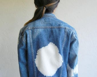 """40% OFF CLEARANCE SALE Vintage Wrangler """"Cloud"""" Dark Wash Denim Jacket"""