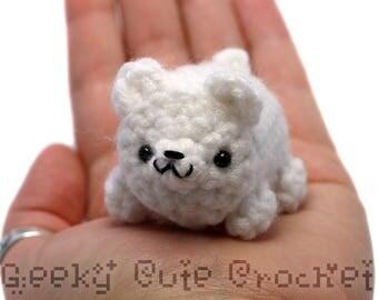 Polar Bear Yami Amigurumi Plush Toy Stuffed Animal Crochet