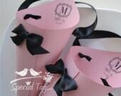 Custom Order for juliealmand - Wedding Paper Cones - Set of 60