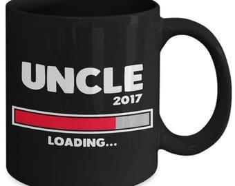 Uncle 2017 Loading Brother Newborn Baby Coffee Mug