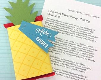 LDS Visiting Teaching Message & Treat - June