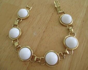 Vintage costume jewelry /Monet  thermoset bracelet