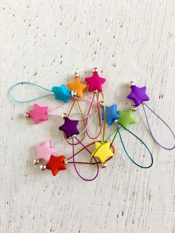 Knitting Stitch Markers Snag Free Star Candy From