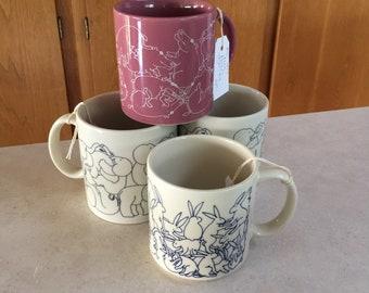 Taylor and NG Animal Orgy mugs