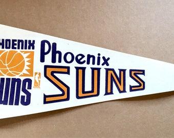 1969 Phoenix Suns NBA Basketball league Pennant Arizona