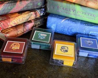 Harry Potter Hogwarts House Wax Tart Melts Set of 4