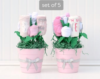 Girl baby shower package girl centerpiece ideas unique table for Baby shower decoration packages