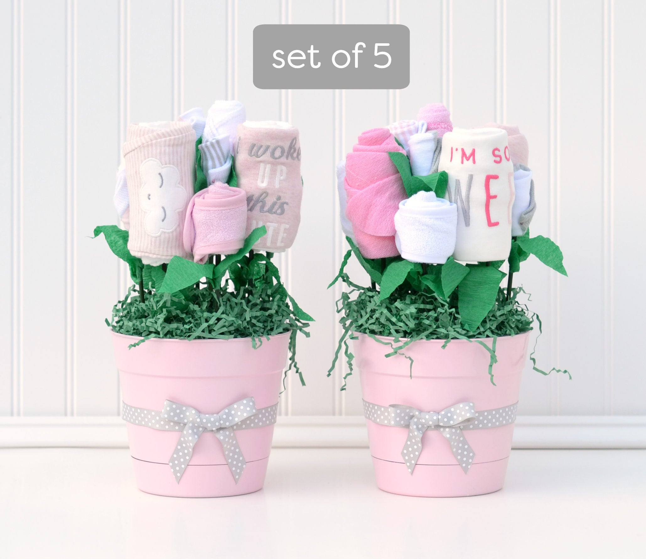 Baby shower decorations girl girl baby shower package for Baby shower decoration packages