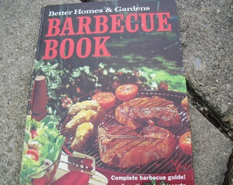 Vintage Better Homes and Gardens Barbecue Book