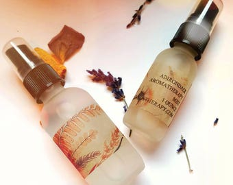 Perfect Peace Aromatherapy Mist. Lavender, Lemongrass, and Victorian Flowers.