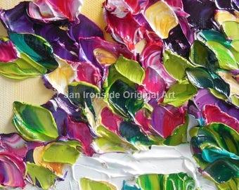 Oil Painting  Original  Impasto Flowers PAINTING Original Art