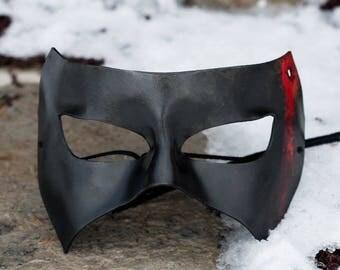 Horror Leather Masquerade Mask