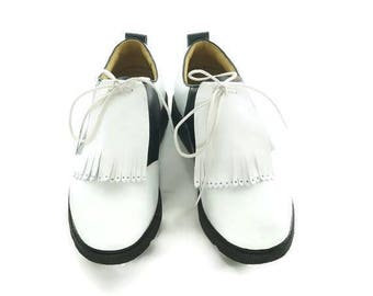 Best Golf Gift, White Kilties for Mens Golf Shoes, Golf Gift for Men, Presents for Dad, Gifts for Golfers, Shoe Accessories, Golf Presents