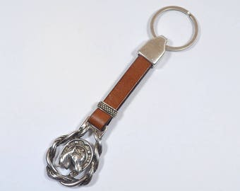 Horse Shoe Medallion for Keychains - Choose Your Quantity