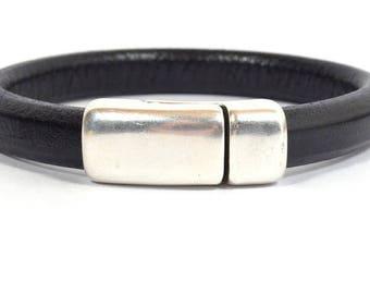 Regaliz® Chunky Magnetic Bracelet Clasps - Antique Silver - CL9 - Choose Your Quantity