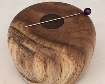 Wooden Magnetic Needle Keeper  - Handmade by Greg Hanson