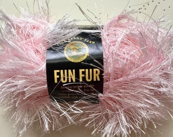 Fun Fur Eyelash Yarn by Lion Brand, Destash Sale!