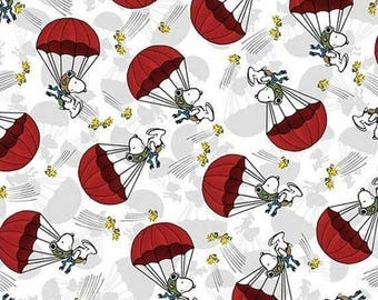 Fun Snoopy Parachute Fabric-- 40-70% off Patterns n Books SALE