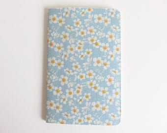 Tilda 'Bumblebee' Fabric Cover Moleskine Cahier Pocket Notebook