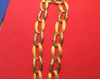 Napier goldtone chain