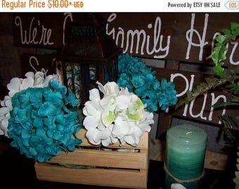 PICK ME SALE Crates wooden Rustic wedding reception centerpieces flower planter box vases barn country diy decorations cottage chic shabby
