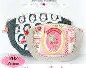 Macaroon Zipper Pouch PDF Pattern