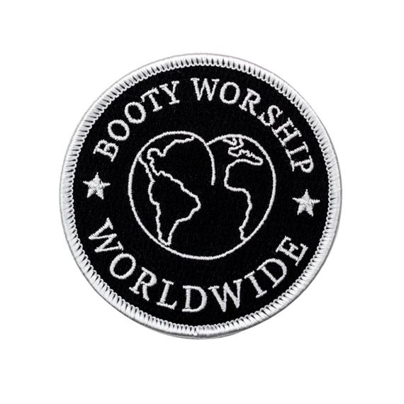 Booty Worship Worldwide Club Patch.