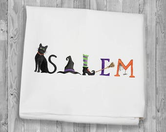 Salem Flour Sack Towels for kitchen and bar