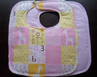Little Cutie - Medium Size Bib - FLANNEL