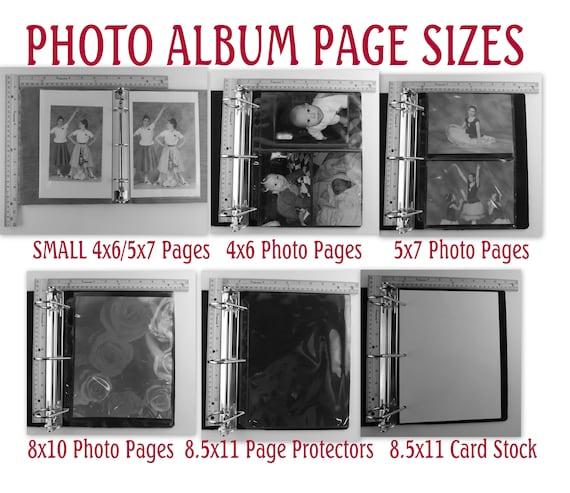 Photo Albums 8x10: Damask Photo Album Girl Photo Album Baby Scrapbook 4x6 5x7