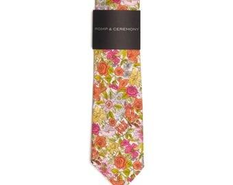 Men's tie, Liberty print Phyllis