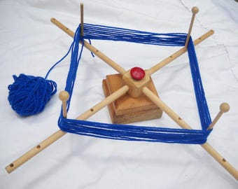 Wooden Yarn Winder, Yarn Reel, Yarn Swift
