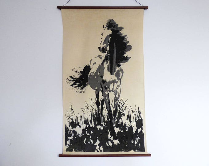 Horse Wall hanging Christso Danish Denmark