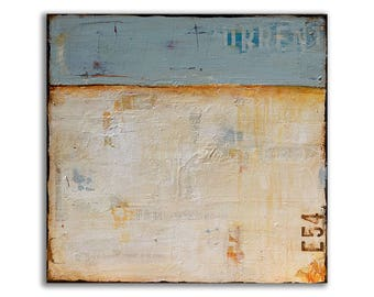Mixed media Abstract Painting