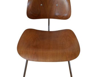 Herman Miller 1950s Walnut Dining Room Chair with New Stainless HM Frames; quantity available