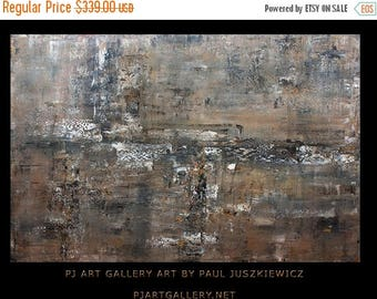 """17% OFF /ONE WEEK Only/ Enormous Modern Contemporary Abstract """"TheWall """" 74""""x48"""" by Paul Juszkiewicz"""