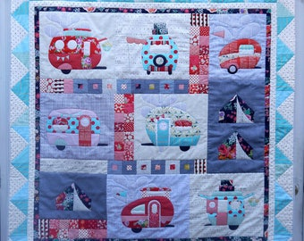"""Vantastic! Applique quilt pattern - Claire Turnpin Design - 62"""" x 62"""""""